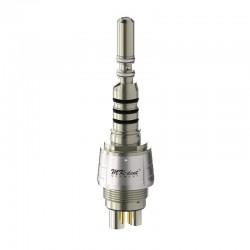 QC5016KW Acoplamiento Quick con luz Xenon y reg. de spray tipo KaVo Multiflex®