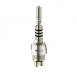 QC6016KW Acoplamiento Quick con luz LED y reg. de spray tipo KaVo Multiflex®