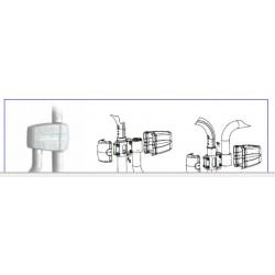 Adaptador columna 45-50mm de diámetro para brazos FARO