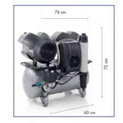 Compresor dental DÜRR Tornado 4 Compresor con secador