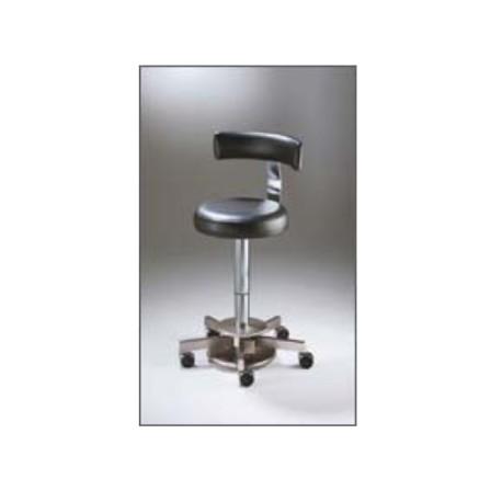 Taburete quirófano COBURG MEDICALIFT 22012 con respaldo