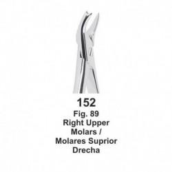forceps de extraccion (forma ingles) Molares superiores derechos