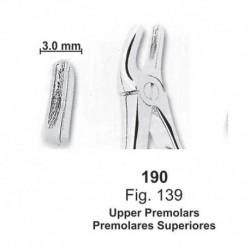Forceps de extracción (para niños) Premolares superiores