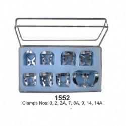 Caja de Clamps 8 unid