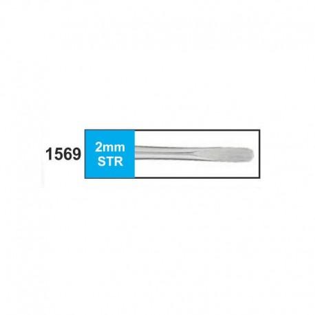 Luxador 2mm (punta plana) recto