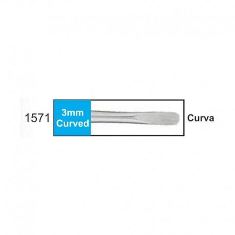 Luxador 3mm (punta plana) curvo