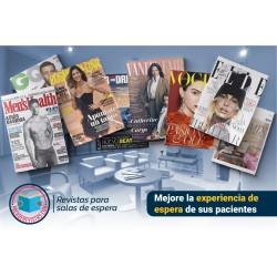 Suscripción 8 revistas mensuales