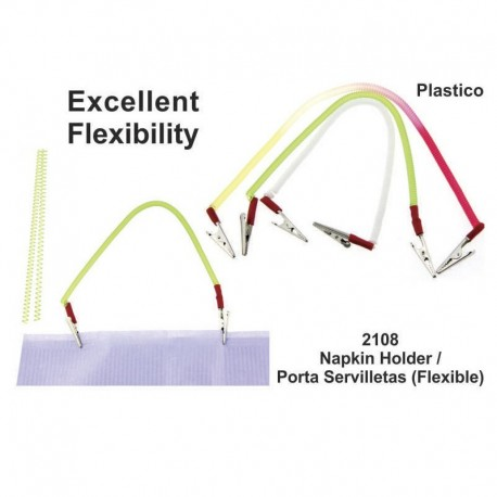 Porta servilletas multi color (Flexible)