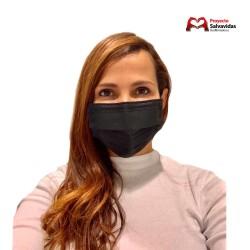 Mascarilla Reutilizable Negra Pack 10 Unidades