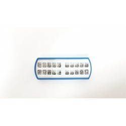 Bracket 022 MBT 345 w/h metal. CASO DE 20 PIEZAS. Disponible tamaños: standard y mini