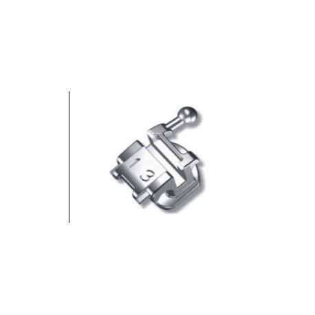 Bracket 022 roth 345 w/h (autoligado) CASO DE 28 PIEZAS. Tubos nº 6 y 7 incluidos + 1 instrumento para abrir y cerrar.