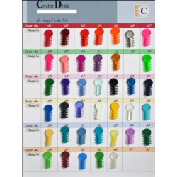 Ligaduras elásticas (surtido colores). Bolsa de 1040 uds.