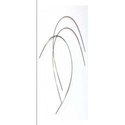 Arcos acero (rectangulares) .019x.025(sup). Bolsa de 10 uds.