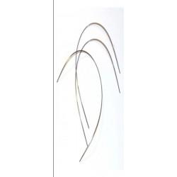Arcos Niti® térmicos rectangulares .021x025(sup). Bolsa de 10 uds.