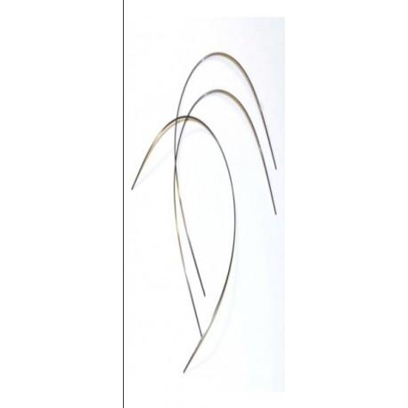 Arco Niti térmico rectangular .017x025(inf). Bolsa de 10 uds.