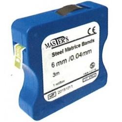 Matriz metálica en rollo (6mm/0.045mm) rollo de 3 metros