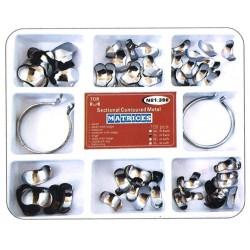 Kit de matrices de metal (caja de 100 uds)