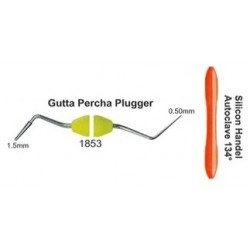 Guttapercha pluger (condensador) 0.50mm+1.5mm (mango silicona)