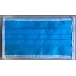 Mascarilla quirúrgica 4 capas, con gomas, sin látex. Pack de 50 uds. (0,25€/unidad)