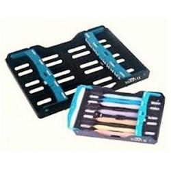 Caja autoclave para esterilizar 10 instrumentos