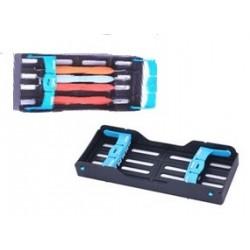 Caja autoclave para esterilizar 5 instrumentos