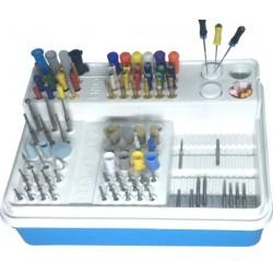Caja de endodoncia multi uso (plástico duro) para Autoclave