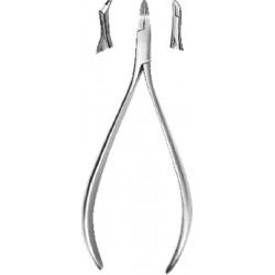 Alicate corte ligadura metálico lingual (TC) inferior 15cm