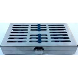 Caja de Esterilizar (inox y silicona) 7 instrumentos