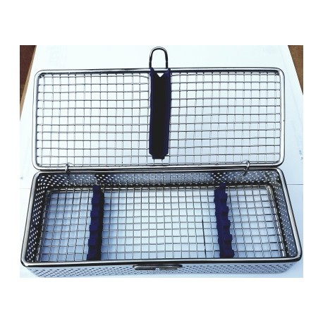 Caja esterilizar (inox y silicona) 05 unid nuevo