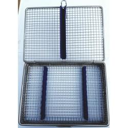 Caja esterilizar (inox y silicona) 10 unid nuevo