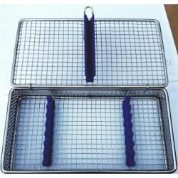 Caja esterilizar (inox y silicona) 07 unid nuevo