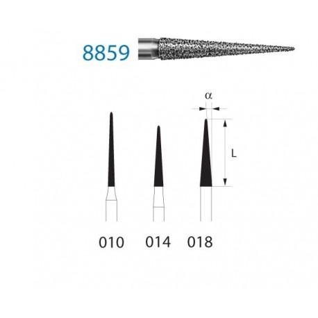 8859.314.010 KOMET diamante clinica 5 ud