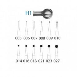 H1.204.016 KOMET carburo clinica 5 ud