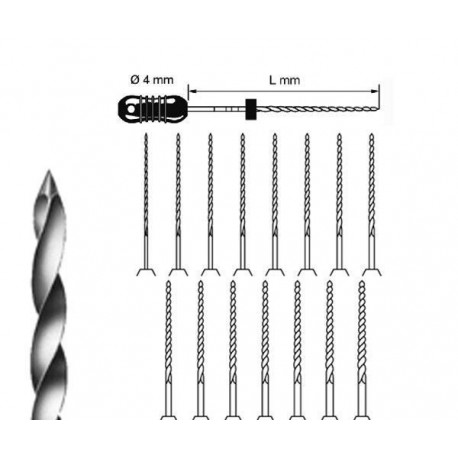 LIMAS K KOMET  esteril 25 mm 020 6 ud