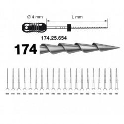 LIMAS HEDSTROM KOMET 21 mm, D.055, 6 uds.