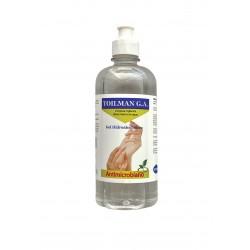 Gel hidroalcohólico para higienización de manos (sin enjuagar) Push Pull 500 ml