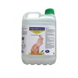 Gel hidroalcohólico para higienización de manos (sin enjuagar) 5 litros