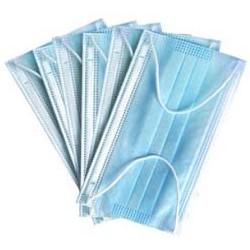 Mascarilla quirúrgica 3 capas, con gomas, sin látex. Pack de 50 uds. (0,22€/unidad)