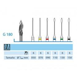 FRESAS GATTES KOMET G180.204.070 15 mm 6 ud