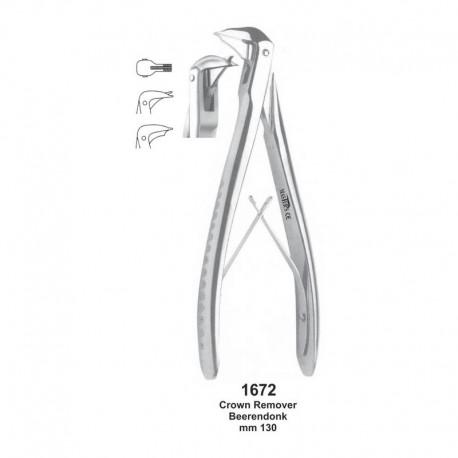 Alicate quita corona Beerendonk 13cm