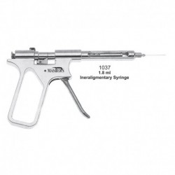 Jeringa intraligamentosa ( tipo pistola)