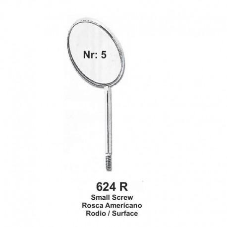 Espejos Rosca Americano  NR .5   12 unid RODIO