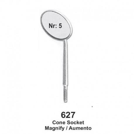 Espejos (con shocket) Magnify (Lupa) NR.05 12 unid.