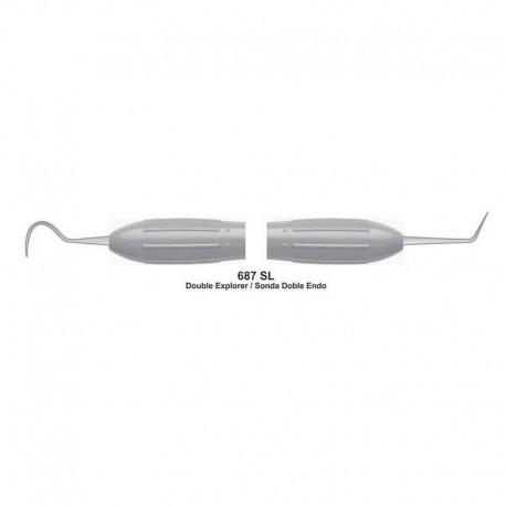 Sonda doble endo mango silicona 10mm