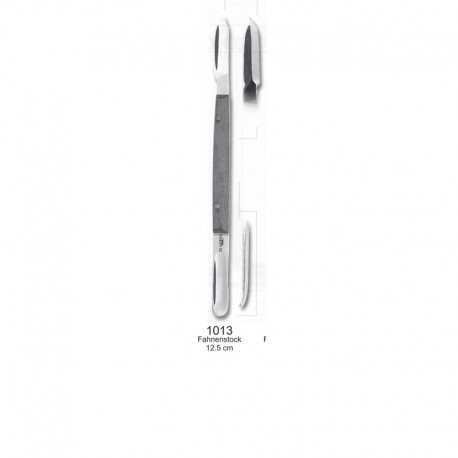 Cuchillo para cera Lessmann 12.5cm