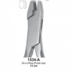 Alicate de la Rosa 13cm (punta lisa)
