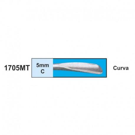 Luxador  5mm (CURVA)                      (mango metal)