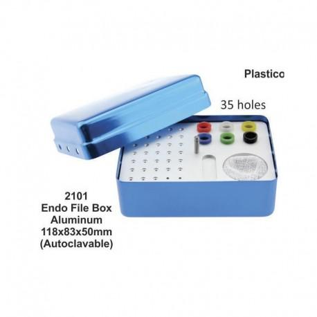 Caja de endodoncia de aluminio