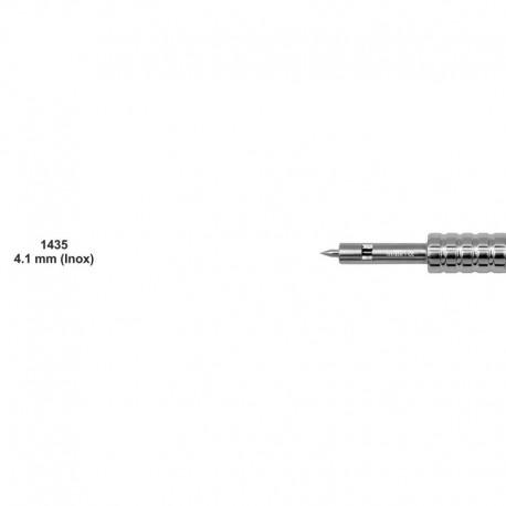 Bisturí manual acero inoxidable 4.1mm