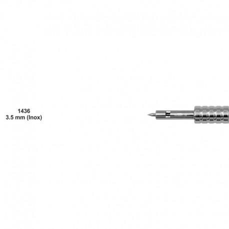 Bisturí manual acero inoxidable 3.5mm